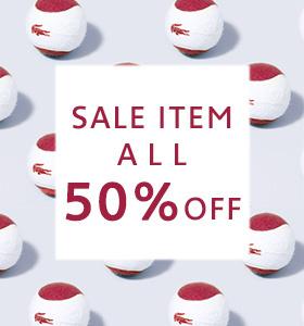 <限定14店舗>1日限定 SALE ITEM 50%OFF!