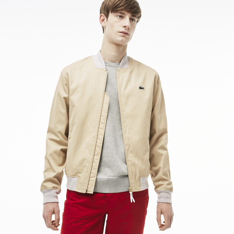 Lacoste Live Zip-Up Cotton Twill Jacket BH2390