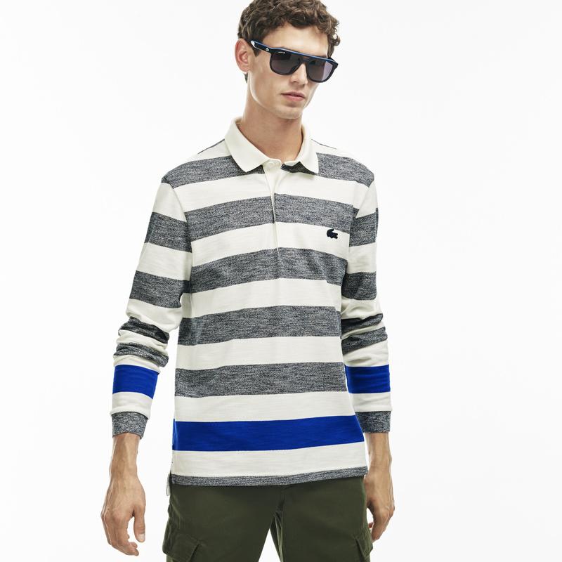 Flecked Striped Polo KH9626