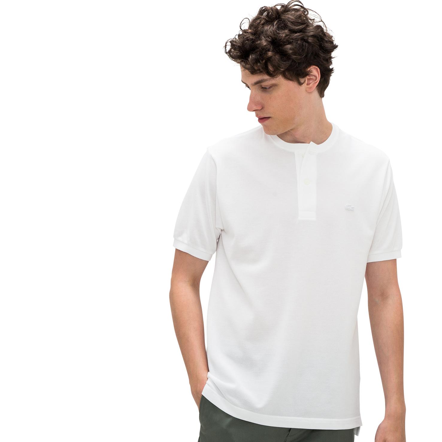 メンズ ラコステ ポロシャツ(半袖) ホワイト