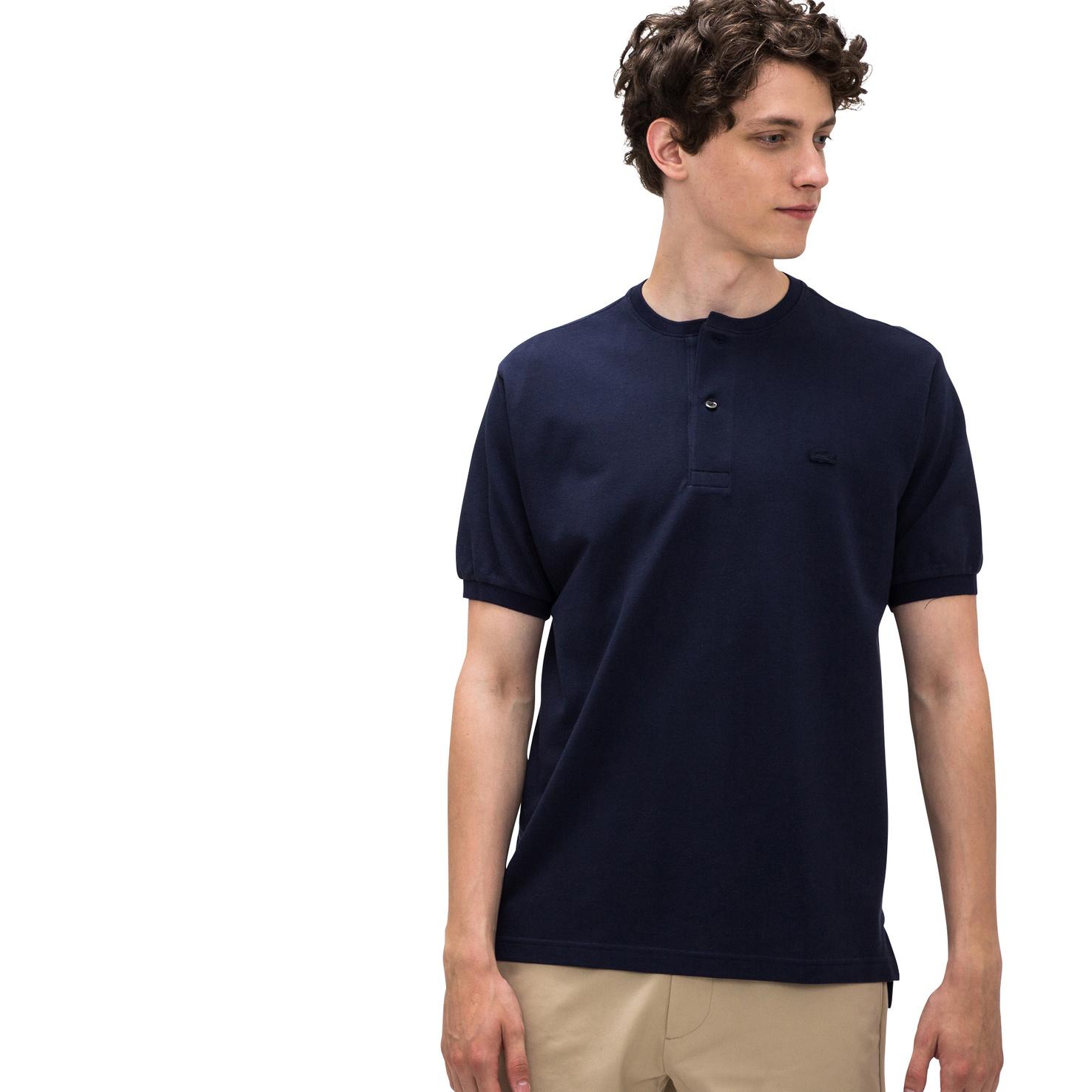 メンズ ラコステ ポロシャツ(半袖) ネイビー