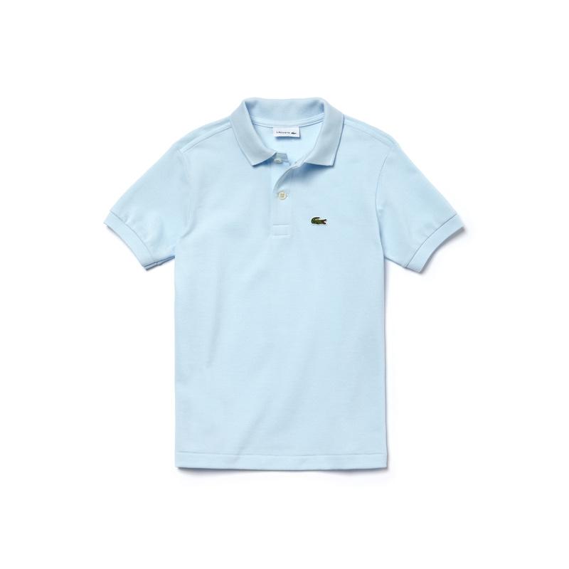 キッズ ラコステ Boys ポロシャツ (半袖) ライトブルー