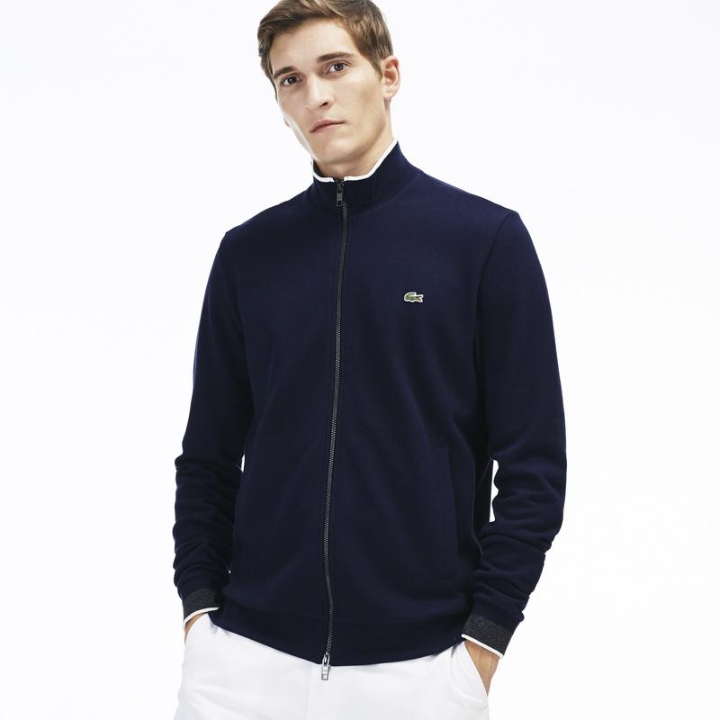 Full Zip Cotton Fleece Sweatshirt SH9592