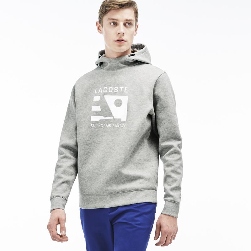 Contrast Nautical Design Hooded Sweatshirt SH9600