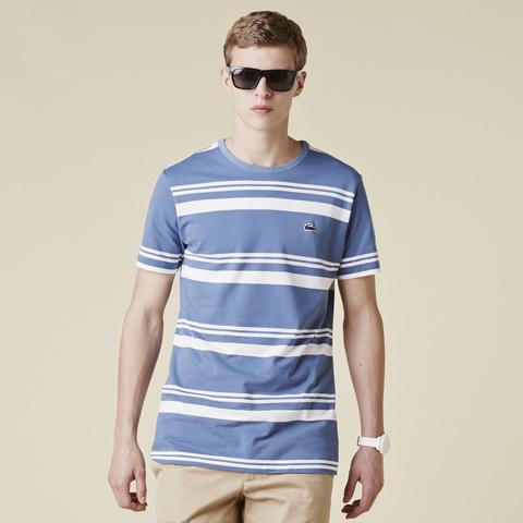 Striped T-shirt TH8121: Admiral Blue