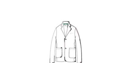 the icons, lacoste blazer